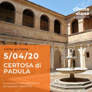 Tour Certosa di San Lorenzo-Padula @ Certosa di San Lorenzo